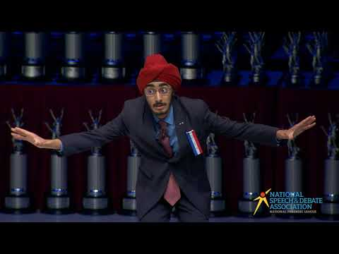 Nationals 2017 - JJ Kapur - Original Oratory