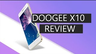 doogee X10 unboxing and review