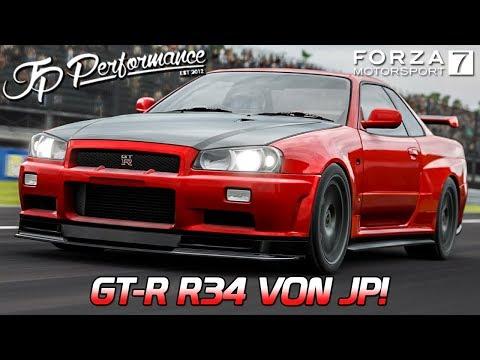 GT-R R34 von JP! | Forza Motorsport 7 German Gameplay | [PC] [GER] Nissan GT-R R34 @ Monza