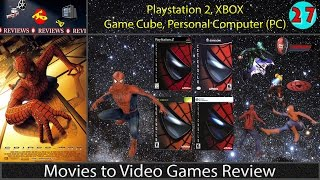 Movies To Video Games Review -- Spider-Man (PS2,GC,XBOX,PC)