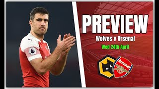 Wolves vs Arsenal - We Need To Bounce Back With A Win - Preview & Predicted Line Up