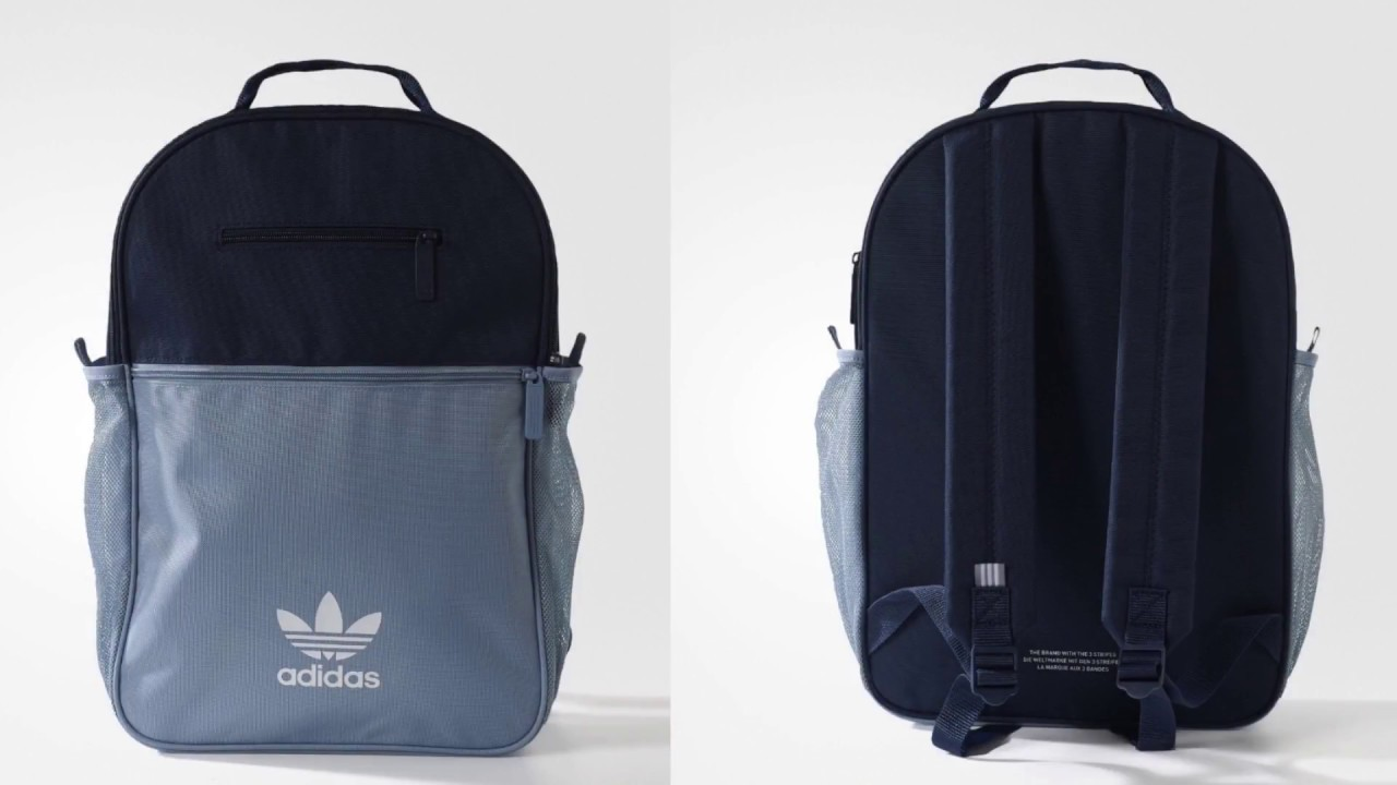 Adidas Originals - Trefoil Backpack (Blue Multicolor)  05b12abd1c4d6