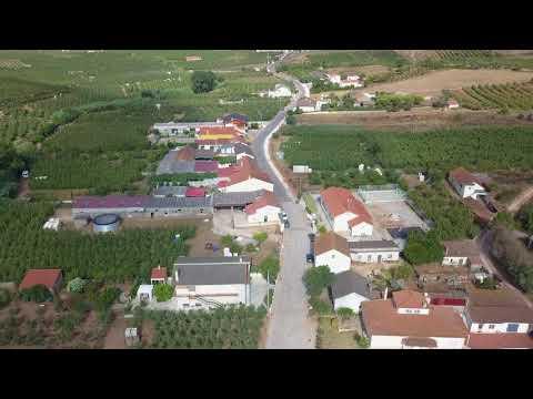"sobrena aldeia da pera""rocha""4k aerial drone"