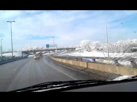 A drive around town.... Bismarck ND