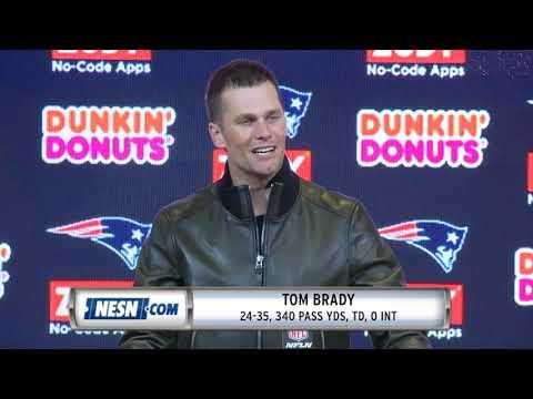 157277ce2 Tom Brady Patriots vs Chiefs Week 6 Postgame Press Conference - YouTube
