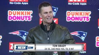 Tom Brady Patriots vs Chiefs Week 6 Postgame Press Conference