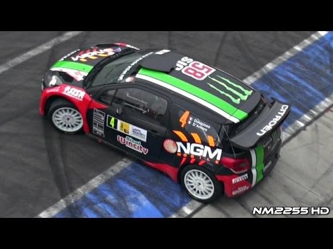 Citroën DS3 WRC Awesome Sound!