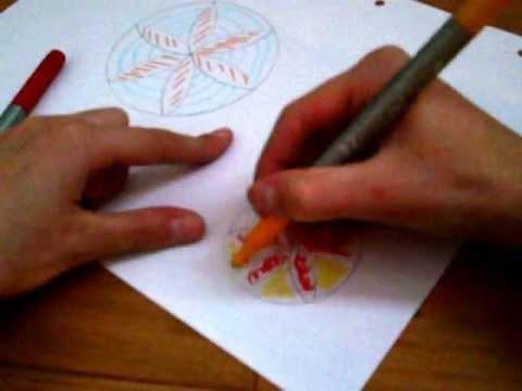 Comment faire une rosace facilement youtube - Comment faire une rosace ...