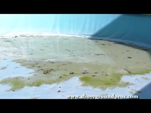 Dangers Of Draining Your Liner In Your Above Ground Pool Youtube