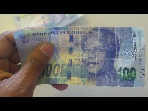 Fake South African Bank Note 2018