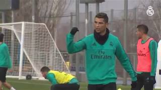 Real Madrid Training Session in 2018