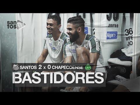 SANTOS 2 X 0 CHAPECOENSE | BASTIDORES | BRASILEIRÃO (01/12/19)