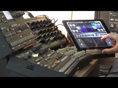 Waldorf Nave iPad synth + Elektron Octatrack, Analog 4