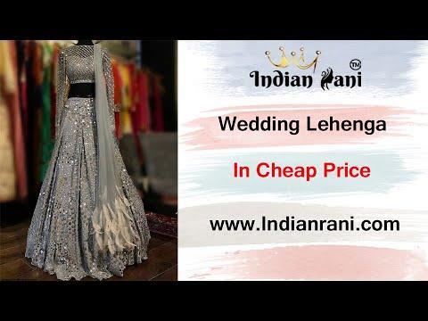 Indianrani.com Designer Lehenga Choli    Neha kakkar    Amazon Lehenga    Online Shopping Review   