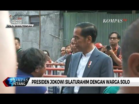 Presiden Jokowi Silaturahim dengan Warga Solo