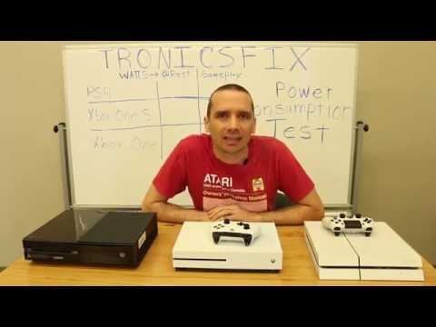 PS4 Vs Xbox One Vs Xbox One S Power Consumption