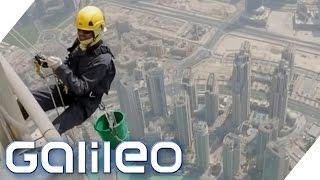 Wie fühlt es sich an im höchsten Gebäude der Welt zu übernachten? | Galileo | ProSieben