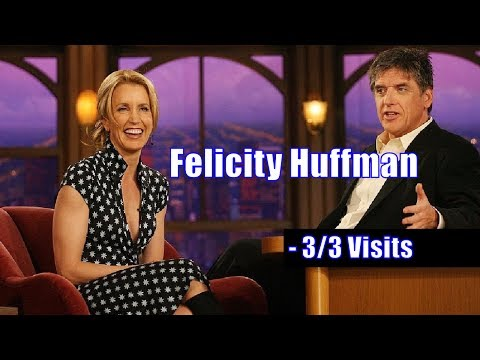 Felicity Huffman - Teaches Craig How To Get Favors From His Wife - 3/3 Visits In Chronological Order