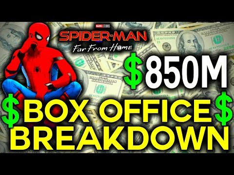 Spider-Man: Far From Home $850M Worldwide in 2nd Week! - Box Office