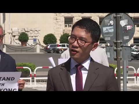 #BreakingNow #LiveStream | Exiled #HK pro-democracy activist Nathan Law speaks to media | 25-08-20