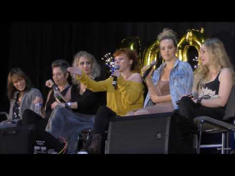 NJCon Kim Rhodes Briana Buckmaster Samantha Smith Rachel Miner Ruth Connell Emily Swallow FULL Panel