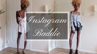 Instagram Baddie Try-On Haul ft Yoins