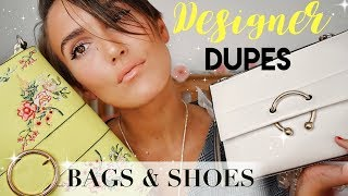 DESIGNER DUPES BAGS & SHOES | GUCCI, DIOR, JW ANDERSON ETC | Blaise Dyer