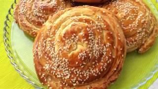 Pastane Usulü Tahinli Çörek Tarifi | Tadimiztuzumuz