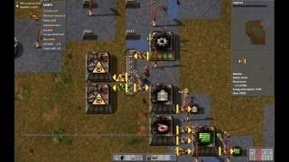 Factorio supply challenge 1:17:26 realtime (1:16:24 in-game)