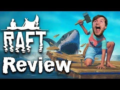 Achtung Hai! | Raft Review | Steam Montag [Deutsch]