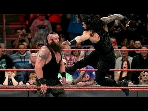 Roman Reigns vs Brain Strowman Full Match - WWE Payback 1 may 2017