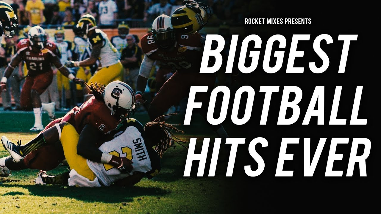 Biggest Football Hits Ever Youtube