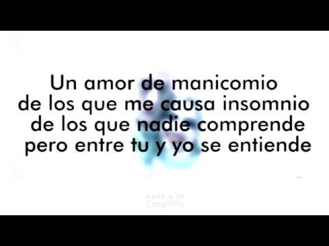 Amor de Manicomio - Cosculluela (Blanco Perla) Video Lyric