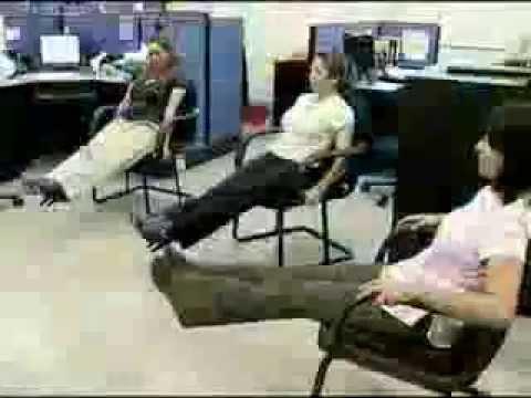 Rutina de ejercicios para la oficina omnipilar youtube for Ejercicios en la oficina