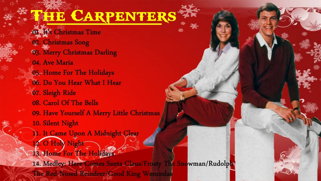 The Carpenters Christmas Songs Album - The Carpenters Greatest Hits ...