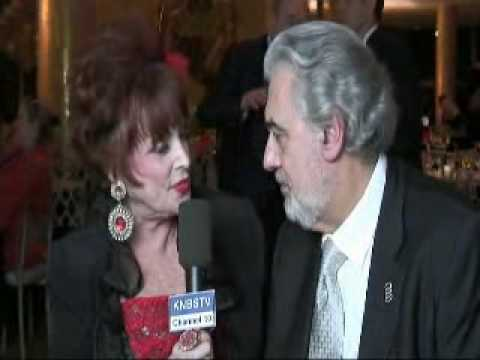 PLACIDO DOMINGO AND MARCI WEINER INTERVIEW.