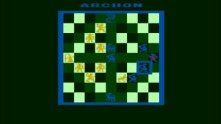 Archon: The Light and the Dark for the Atari 8-bit family