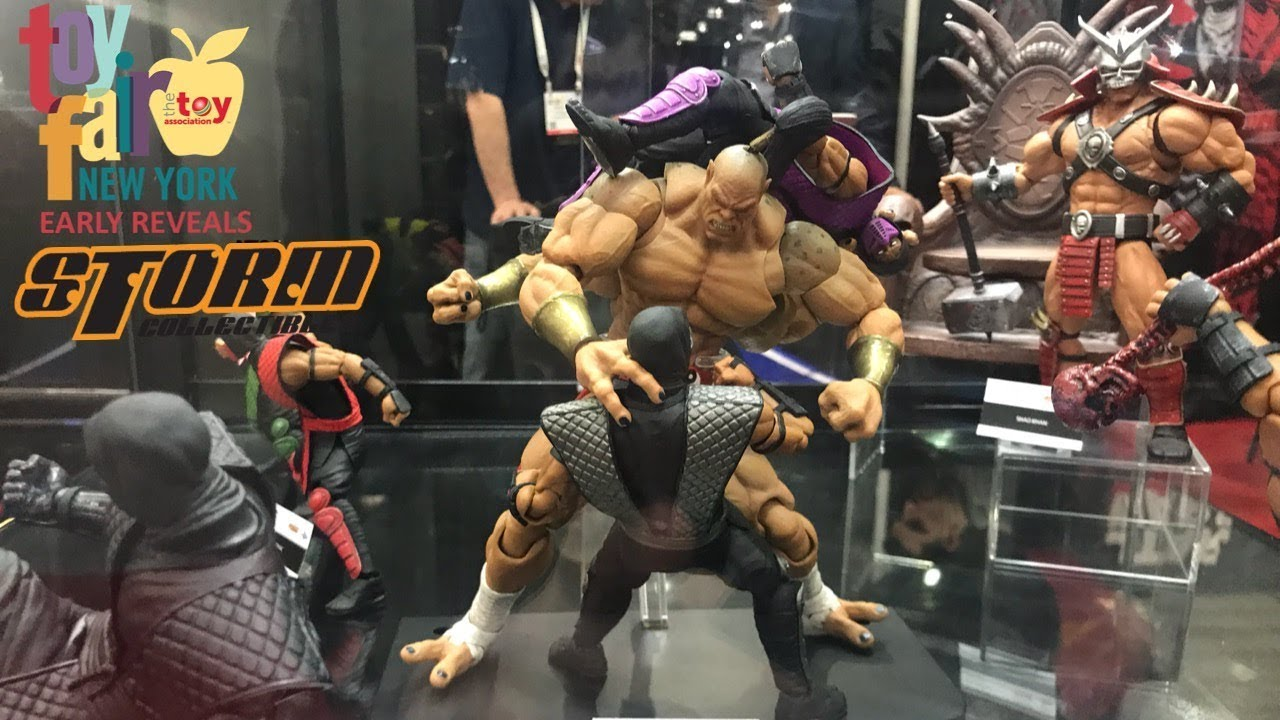 new york toy fair 2018 storm collectibles walkthrough youtube