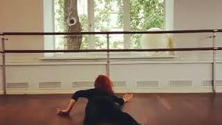 Стриппластика. «Вертушка». Strip Dance floorwork.