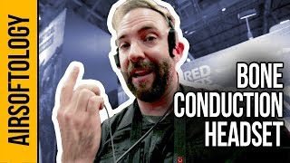 PRO-Level Bone Conduction Tactical Microphone | Airsoftology SHOT Show 2018