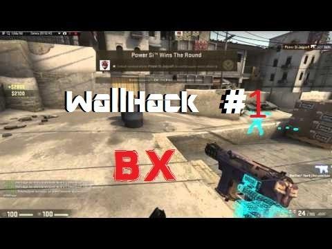 Чит для просмотра сквозь стены (Wallhack)(Wh)Без скачивания программ В Cs:go