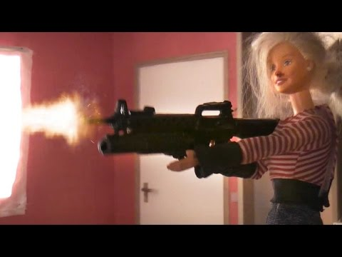 The Break up (Action movie with Action man and Barbie (With English subs))