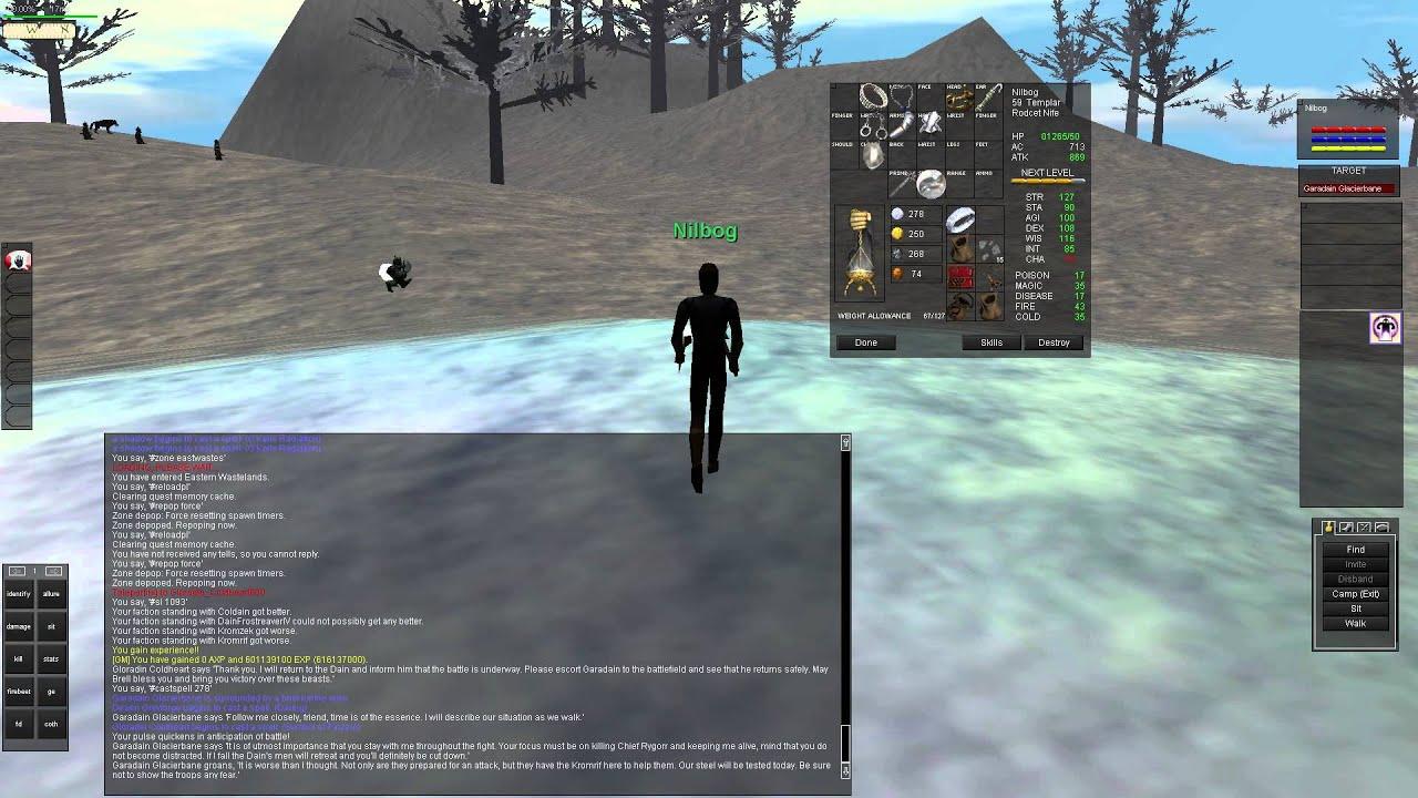 Coldain Ring War on Live ( probably Test Server )   The Al