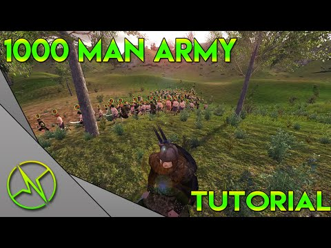 How To Get A 1000 Man Army Mount And Blade Warband Tutorial
