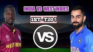 INDIA VS WEST INDIES LIVE CRICKET MATCH TODAY T20 2019 LIVE IND VS