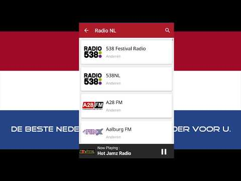 Radio NL - Nederland Radio Promotional Video