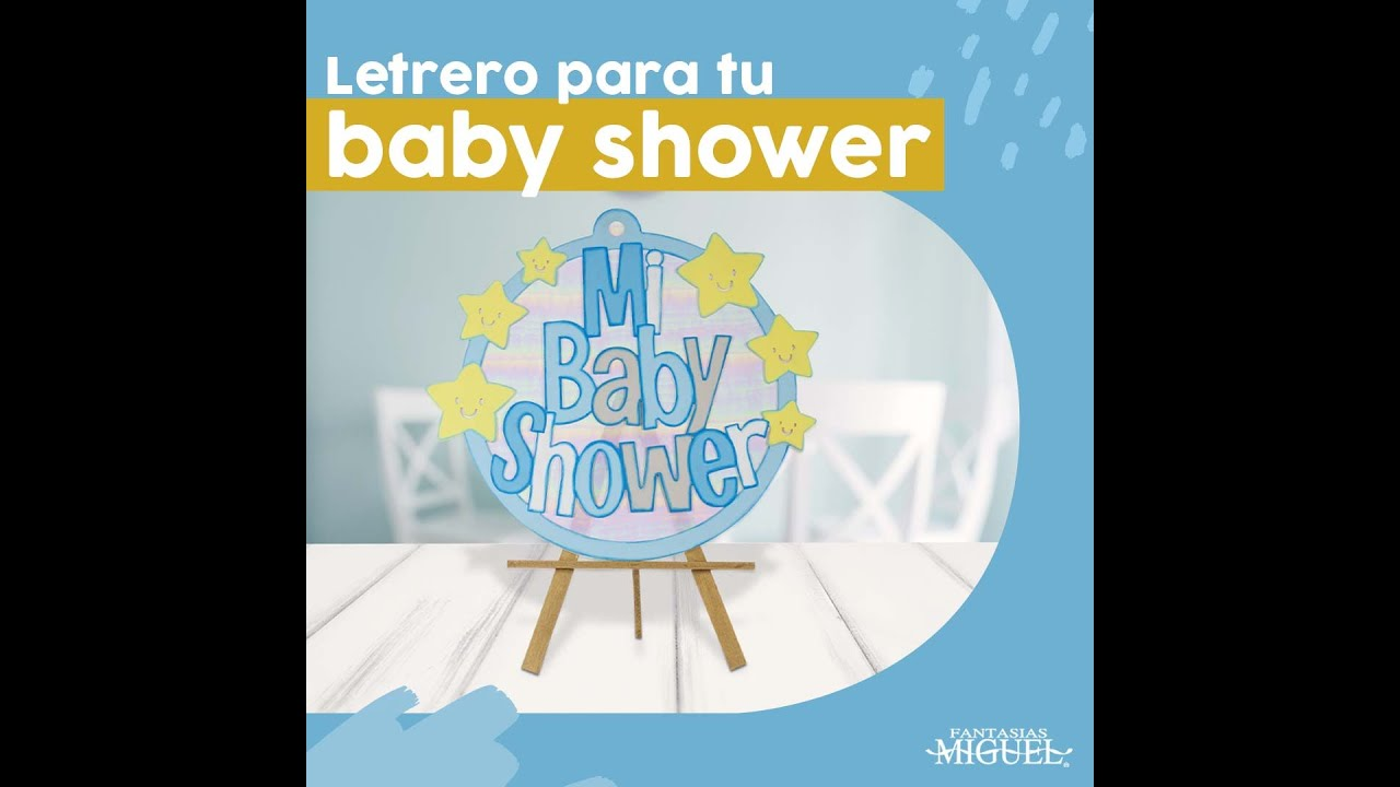 LETRERO BABY SHOWER