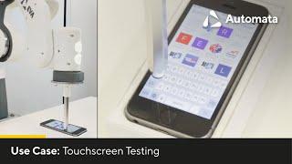 EVA ROBOT | Touchscreen Testing | AUTOMATA