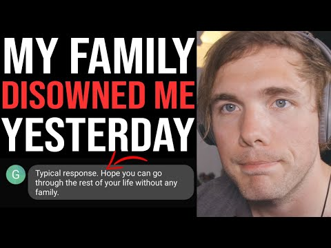 My Family Disowned Me Yesterday.. ( Showing The Text Messages ) | #grindreel #gaslighting