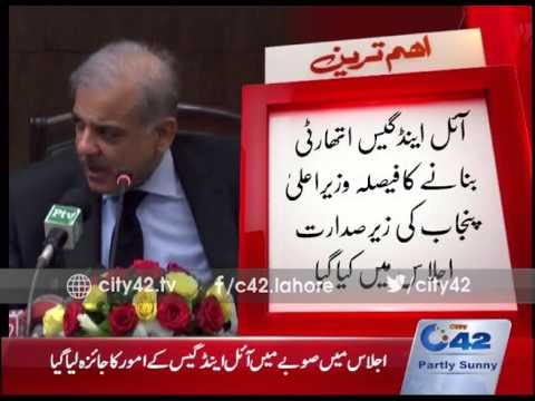42 Breaking: Fully Independent decision to Oil and Gas Authority in Punjab